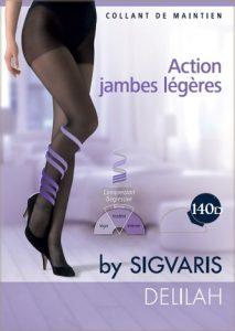 Καλσόν Πρόληψης για Γυναίκες με μειούμενη συμπίεση DELILAH, 140D, καλσόν ιατρικό, sigvaris, φλεβική κυκλοφορία, ΠΑΠΑΠΟΣΤΟΛΟΥ, καλσόν ιατρικό
